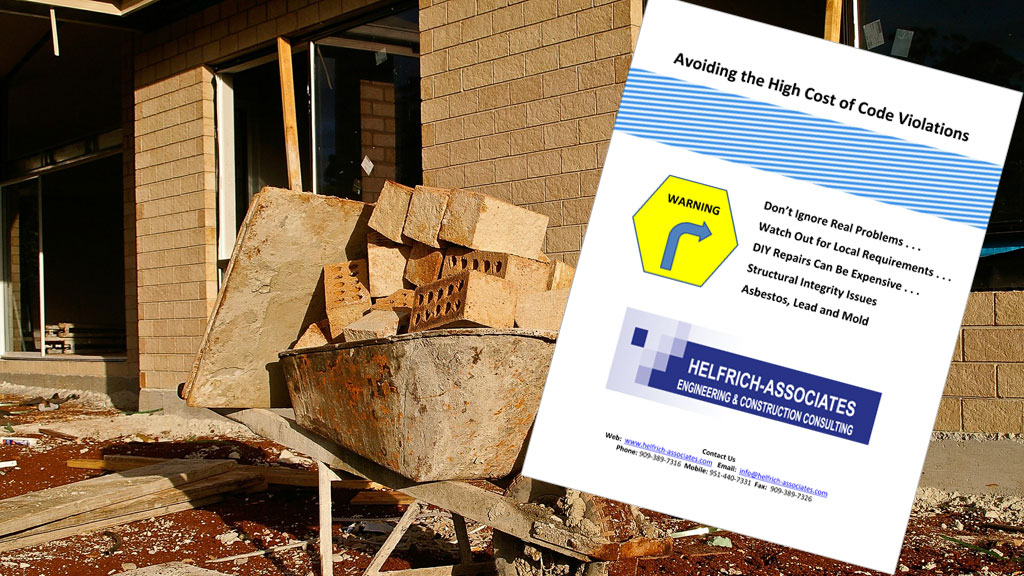 Free Guide Offer: Avoiding Code Violations
