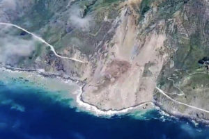 Big Sur Mud Creek Slide