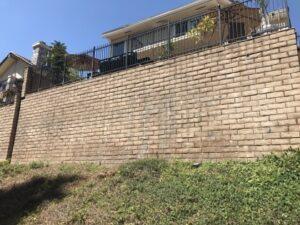 Hillside Retaining Walls